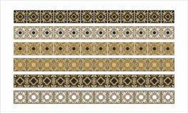 De gouden lijn van het ornament Royalty-vrije Stock Foto