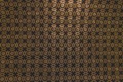 Gouden en zwarte patroonoscuro als achtergrond stock afbeeldingen