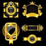 Gouden etiketten vector illustratie