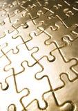 Gouden figuurzagen Stock Foto's