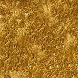 Gouden folie royalty-vrije stock afbeeldingen