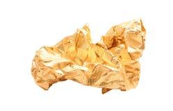 Gouden folie Stock Foto's