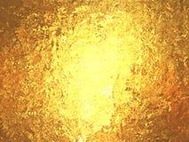 Gouden folie prachtige metaalachtergrond Stock Afbeelding