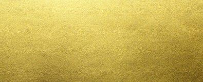 Gouden folietextuur stock foto's