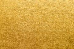 Gouden folietextuur Gouden abstracte achtergrond royalty-vrije stock afbeelding