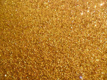 Gouden fonkelende achtergrond Royalty-vrije Stock Fotografie
