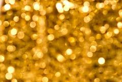 Gouden Fonkeling Royalty-vrije Stock Foto's