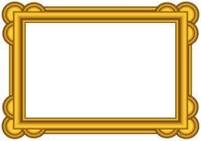 Gouden frame. Stock Foto