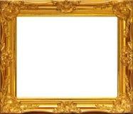 Gouden frame stock afbeeldingen