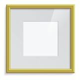 Gouden frame Stock Afbeelding