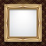 Gouden frame Stock Fotografie