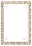 Gouden frame royalty-vrije illustratie