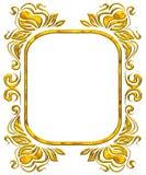 Gouden frame Royalty-vrije Stock Fotografie