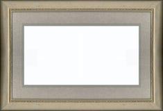 Gouden Frame en Mat Stock Foto's