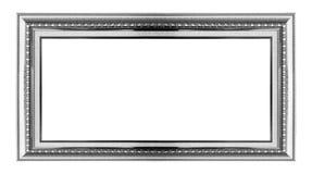Gouden frame Geïsoleerd op wit royalty-vrije stock afbeelding