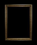 Gouden frame met het knippen van weg Royalty-vrije Stock Foto