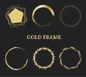 Gouden frame vector illustratie