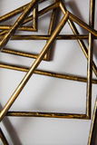 Gouden frames Royalty-vrije Stock Foto