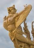 Gouden garuda Stock Foto