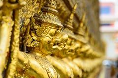 Gouden garuda Royalty-vrije Stock Afbeelding