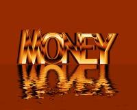 Gouden Geld Royalty-vrije Stock Afbeeldingen