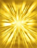Gouden Gele Achtergrond royalty-vrije illustratie