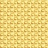 Gouden geometrisch naadloos patroon Royalty-vrije Stock Foto's