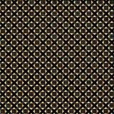 Gouden geometrisch patroon Stock Afbeelding