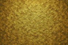 Gouden Geweven Achtergrond Stock Afbeelding