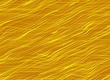Gouden glanzende haarachtergronden Stock Afbeelding