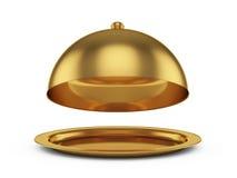 Gouden glazen kap Stock Foto