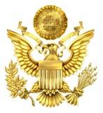 Gouden Grote Verbinding van de Verenigde Staten Stock Fotografie