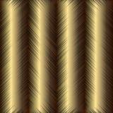 Gouden grunge geweven 3d naadloos patroon Vector gouden grungy B Stock Illustratie