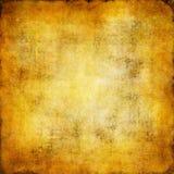 Gouden grungeachtergrond Stock Foto's