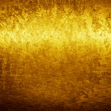 Gouden grungetextuur royalty-vrije stock foto's