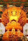 Gouden Guan Yin Royalty-vrije Stock Foto