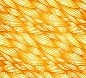 Gouden haar naadloos patroon Stock Fotografie