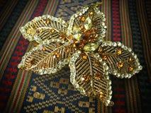 Gouden Haarspeld royalty-vrije stock foto's