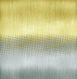 Gouden halftone stock illustratie