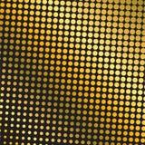 Gouden halftone achtergrond vector illustratie
