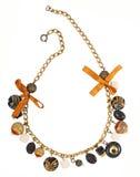 Gouden halsband Stock Fotografie