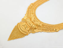 Gouden halsband royalty-vrije stock foto's