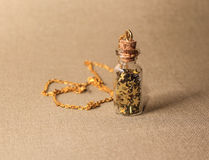 Gouden halsband toebehoren royalty-vrije stock foto's