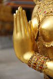 Gouden handkinaree Royalty-vrije Stock Foto's