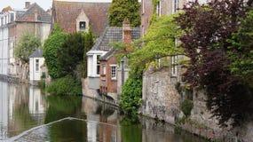 Gouden-Handrei在布鲁日在比利时 免版税库存照片