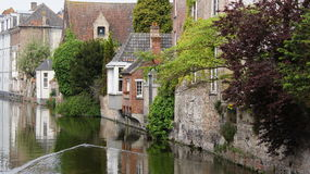 Gouden-Handrei w Bruges w Belgia Zdjęcia Royalty Free