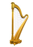 Gouden Harp stock illustratie