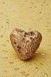 Gouden hart Royalty-vrije Stock Fotografie