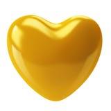 Gouden Hart Royalty-vrije Illustratie