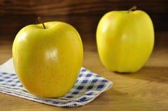Gouden - heerlijke appel Royalty-vrije Stock Afbeeldingen